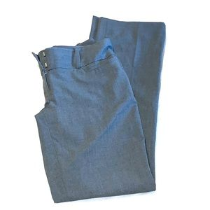 The Limited Drew Fit Gray Trouser